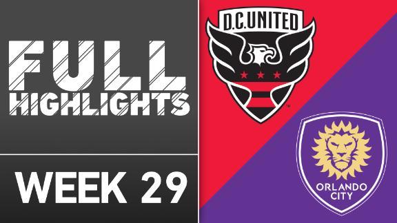 Video via MLS: DC United 4-1 Orlando