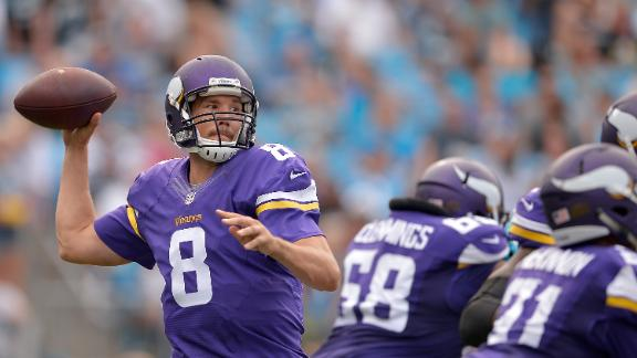 Vikings' defense shuts down Newton, Panthers