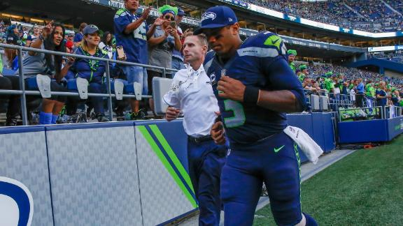 Wilson injured in Seahawks' victory over 49ers