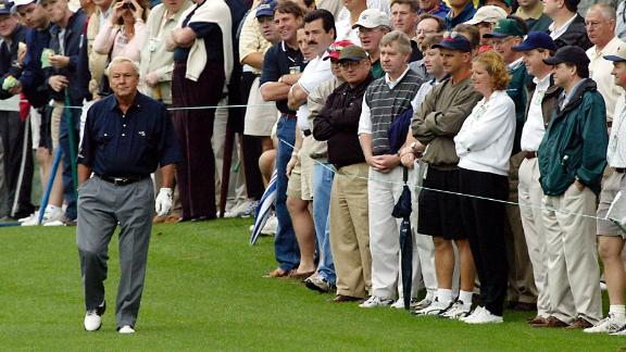 Palmer did so much to bring golf to the masses