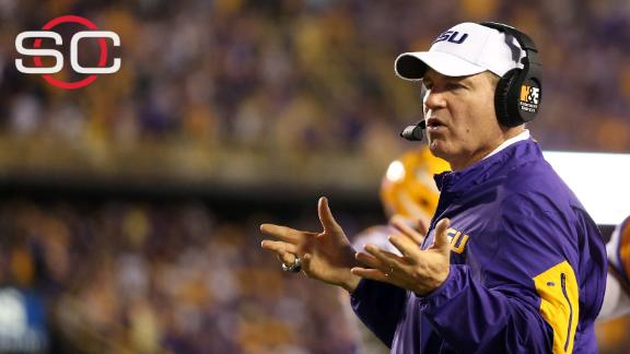 Les Miles would have 'difficult time' not being a coach
