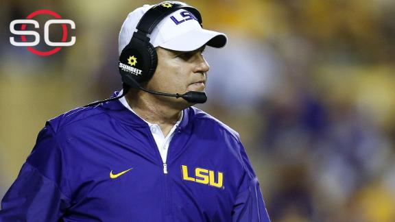 What led to Les Miles' firing at LSU?