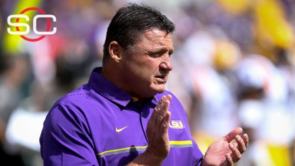 How will Ed Orgeron fit as LSU's interim coach?