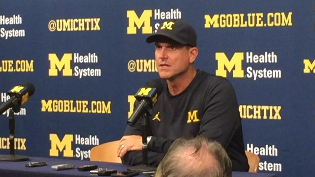 Harbaugh on players' actions: 'I support them'