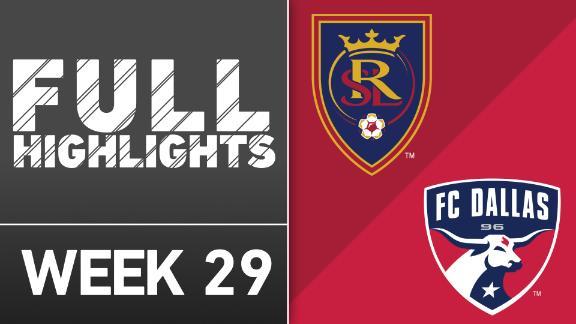 Video via MLS: RSL 0-0 FC Dallas