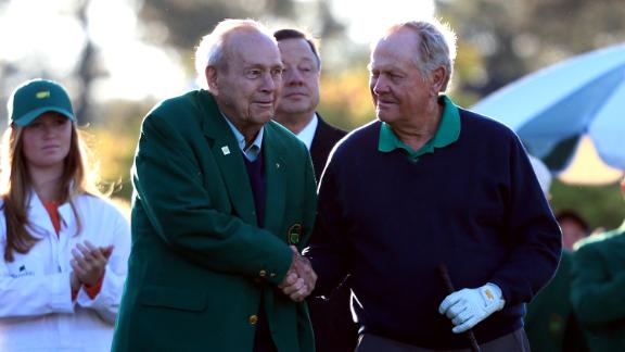Nicklaus remembers fantastic rivalry, friendship with Palmer