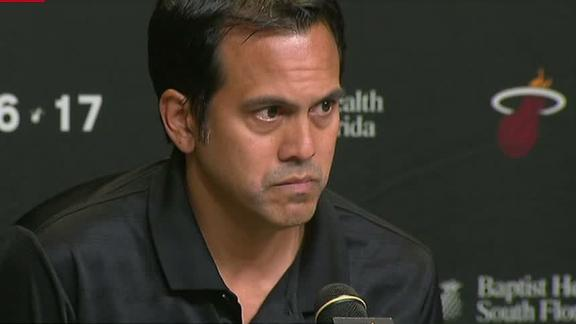 Spoelstra always trusted Bosh and will miss him on the Heat