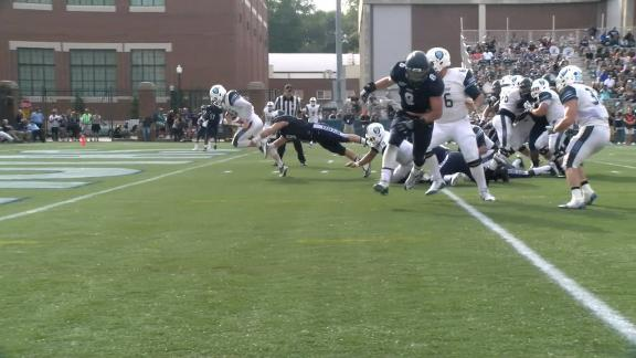 Anders Hill into the end zone v. Georgetown - Video via Ivy League