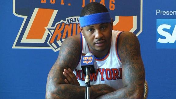 Derrick Rose wants to 'make the game easier' for Carmelo Anthony