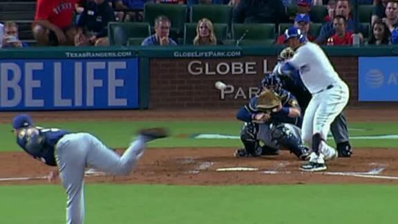 Gomez ties the game with three-run blast