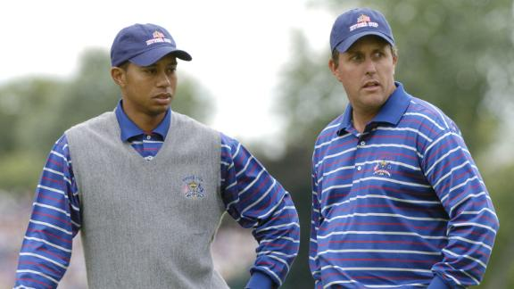 Mickelson: Tiger and I were doomed to fail at the 2004 Ryder Cup