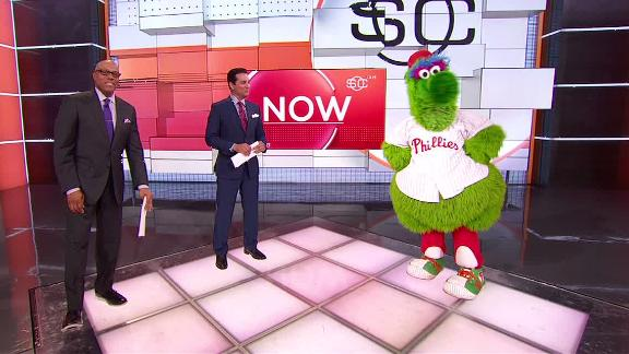 The Phillie Phanatic relives silliest encounters
