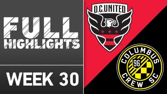 Video via MLS: DC United 3-0 Crew SC
