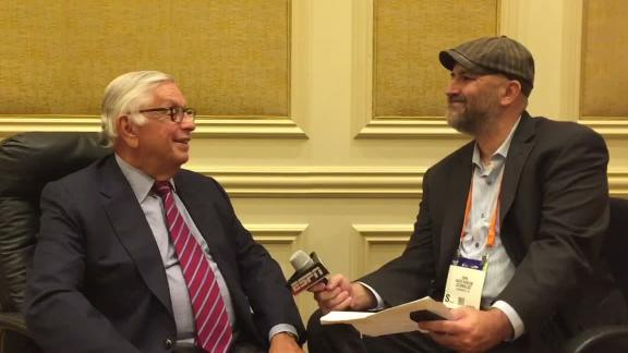 Former NBA commissioner David Stern hopes to see legalized betting expand in U.S.