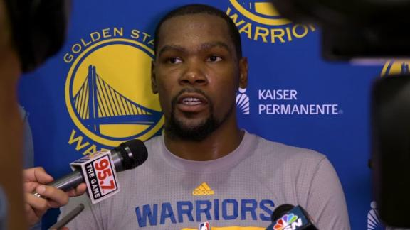 Durant optimistic heading into preseason