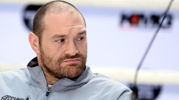 World champ Fury tests positive for cocaine