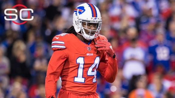 Bills rule WR Sammy Watkins (foot) out vs. Patriots