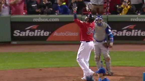 Ortiz, Red Sox beat Blue Jays