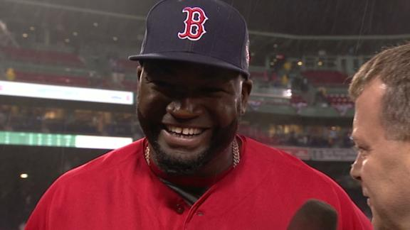 Emotional day for David Ortiz