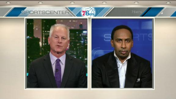 Stephen A.: Sixers fans lose only reason to cheer