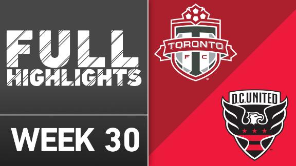 Video via MLS: Toronto 1-2 DC United