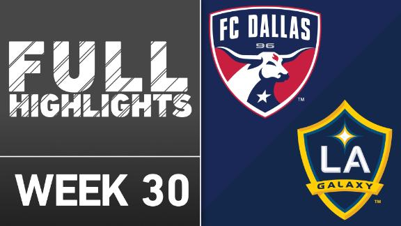 Video via MLS: FC Dallas 1-0 Galaxy