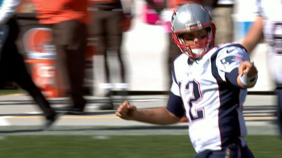 Brady's return capped off with 3 touchdowns to Bennett