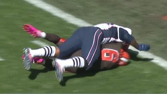 Patriots force safety, Kessler leaves game on play