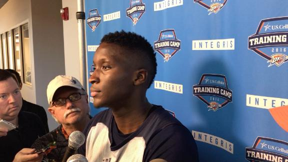 Oladipo says the locker room is 'sacred place'