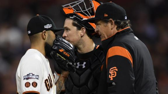 Olney not shocked Giants' bullpen blew lead