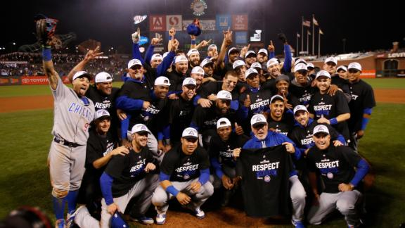 Cubs rally past Giants in ninth to advance to NLCS