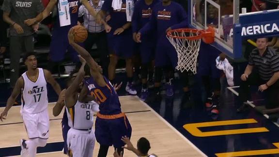Suns win on Goodwin's thunderous dunk