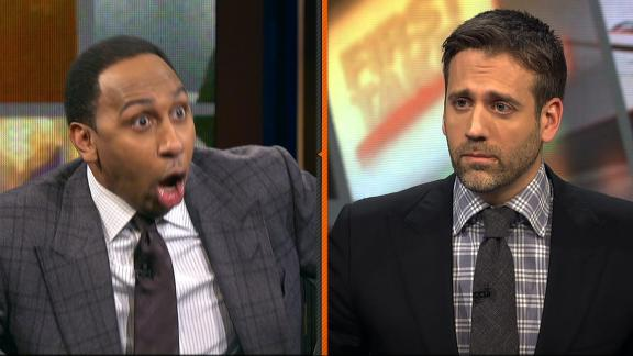 Stephen A. can't believe Max doesn't consider Melo top 10 player