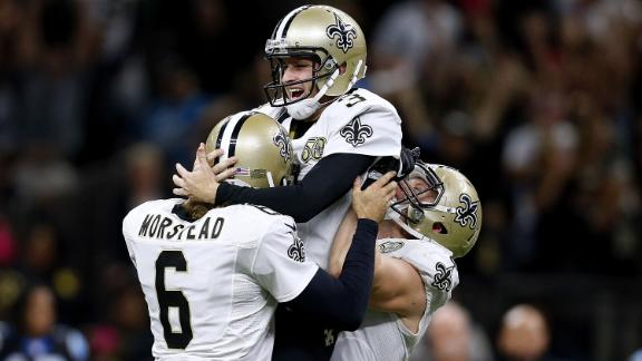 Saints drop Panthers to 1-5 on late FG