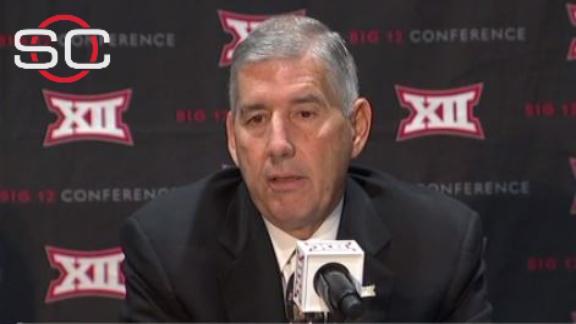 Commissioner explains why Big 12 stays at ten schools