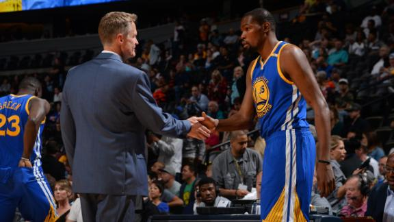 Warriors turn Finals failure into show-stopping offseason
