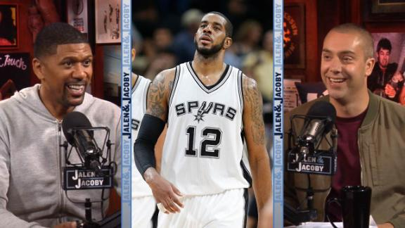 LaMarcus Aldridge rebuffs reports he's unhappy in San Antonio