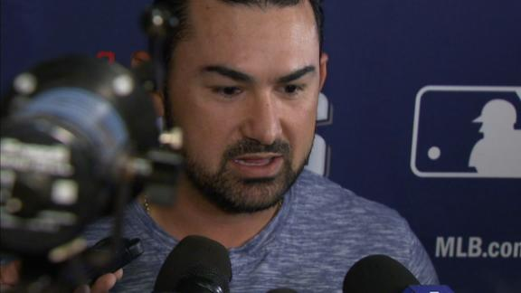 Adrian Gonzalez sounds off after review upholds controversial call