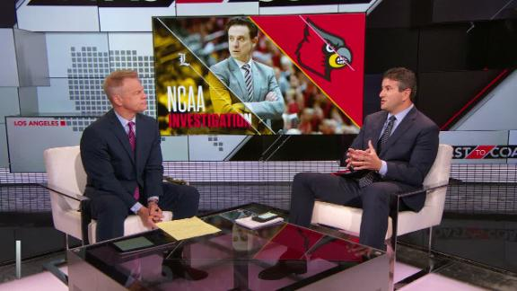 Louisville accepts facts, blames McGee