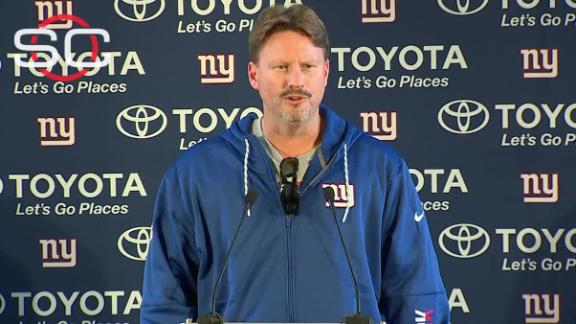Brown on NFL exempt list, likely done with Giants