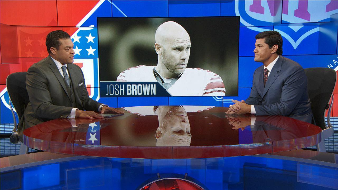 Officials, players concerned with NFL's treatment of Josh Brown case