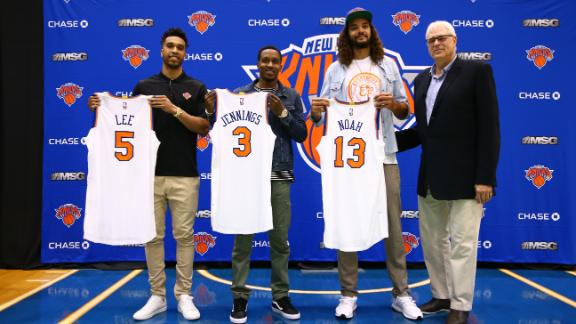 Knicks revamp roster. Will fortunes change?