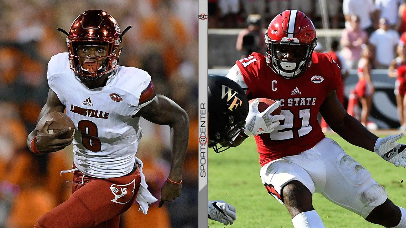 Louisville-NC State kicks off day of high-stakes matchups