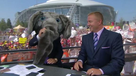 Corso has a long history of picking Alabama