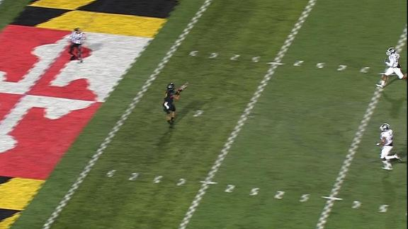Maryland's wide-open man nabs the TD