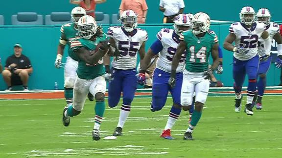 Dolphins' RB Jay Ajayi is 4th player in Super Bowl era to post back-to-back 200-yard rushing games