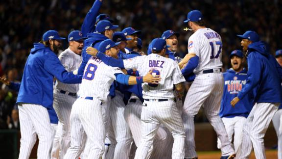 Hendricks outpitches Kershaw, Cubs advance to WS
