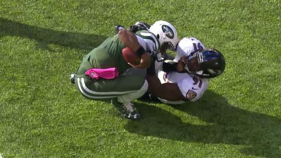 Ryan Fitzpatrick takes over injured Geno Smith, leads Jets past Ravens
