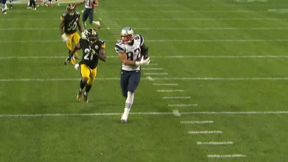 Brady finds Gronk for 36-yard touchdown