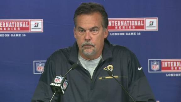 Fisher sticking with Keenum, not blaming him in loss to Giants